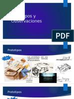 Prototipos y Observaciones Expo