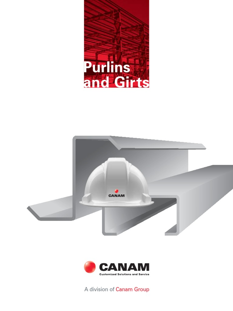 canam-purlins-and-girts-catalogue-canada pdf   Structural
