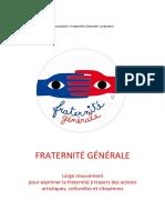 Fraternite Generale Presentation