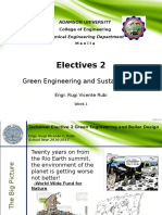 Green Engineering and Sustainability