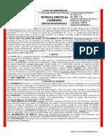 Tetracloreto de Carbono Onu1846