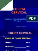 Fimca 10ª Aula Coleta Cervical - Alunos