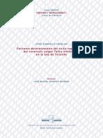 Carrillo 2005. Factores Determinantes Éxito Reproductivo Cernícalo Vulgar