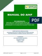 Manual Sefisc - Ainf- Versão 3.0.1