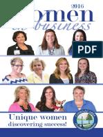 July/August Women in Business Insert