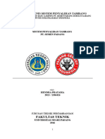 Kajian Teknis Sistem Penyaliran Tambang (Sp Hidrogeologi)