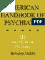 American Handbook of Psychiatry 3