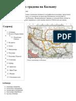 Списак Римских Градова На Балкану — Википедија, Слободна Енциклопедија