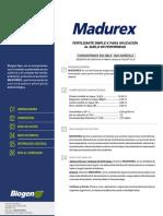 MADUREX- Fícha Técnica