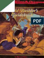 World Builder's Guidebook