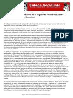 Articulo La Lcr Un Trozo de Historia de La Izquierda Radical en Espana