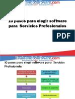 10pasosparaelegirsoftwareaplicadoaserviciosprofesionales-120911140041-phpapp01