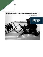 Direccion de Documentales - Michael Rabiger