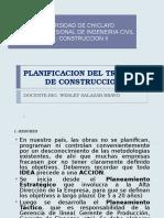 5. Planificacion Del Trabajo de Construccion