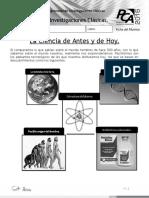 Ficha 1, Biología. Investigaciones Clásicas
