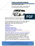 9 Programacion de Toyota Hiace 2010