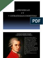 Estrategias Cognitivas de Mozart y Einstein