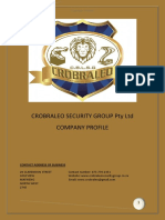 Crobraleo Security Group Company Profile