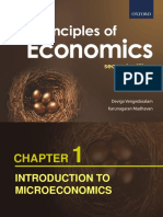 Chapter 1- Introduction to Microeconomics