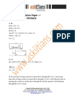 Solution Paper 1