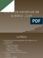 Los libros narrativos de la Biblia
