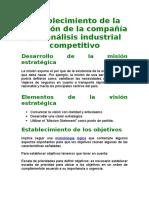 Estrategia Empresarial - Tema II
