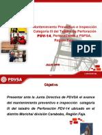 Mtto- Presentacion Pdv-14 18072016
