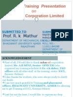 indianoilcorporationlimitedpptofmechanicalengineering-131215140907-phpapp02