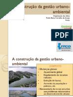 Gestão Urbana_aula EloisaUFF