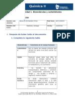 Biomoleculas y Carbohidratos