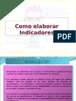 Elaboracion de indicadores de logro para el aprendizaje.ppt