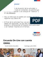 Encuesta on Line Con GMAIL