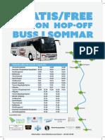 Hopp on Buss Tanum Gallande Nyast