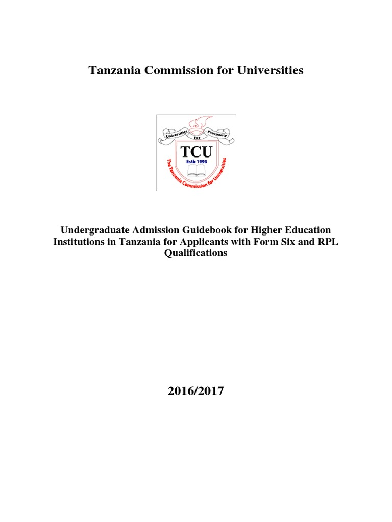 Undergraduare Admission Guidebook 2016/2017   University And College  Admission   Gce Advanced Level (United Kingdom)