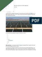 Chile Tiene Tanta Energía Solar Que Ahora La Está Regalando
