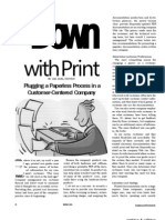 Down With Print - Plugging a Paperless Process - STC