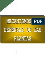 5. Defensa de Las PLantas