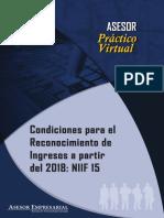 002 Condiciones para el Reconocimiento de Ingresos a partir del 2018 - NIIF 15.pdf