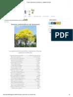 Árboles Emblemáticos de Venezuela