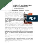 EJEMPLOS DE PROYECTOS DE INVERSIÓN