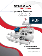 Compressor Alternativo Serie v Mayekawa