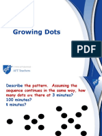 growing dots