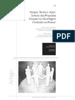 Utopia, Teoria e Ação - Leitura Das Propostas Grupais Na ACP