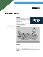 Capitulo 4 - Estatica - Equilibrio - 1ra y 3ra Ley de Newton