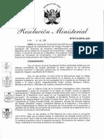 Protocolo de Actuación Interinstitucional para la Prevención y Represión de los Delitos de Corrupción de Funcionarios