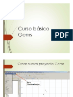 Gemcom Gems Curso Basico