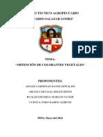 Monografia Tinte Vegetal Lista