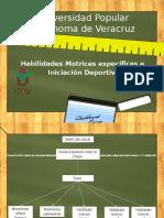 3.3 Habilidades Motrices Específicas e Iniciación Deportiva