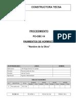 PO-OBC-14 Pavim