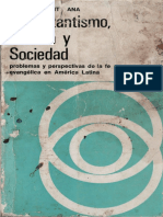 De Santa Ana Julio Protestantismo Cultura y Sociedad en Latinoamerica